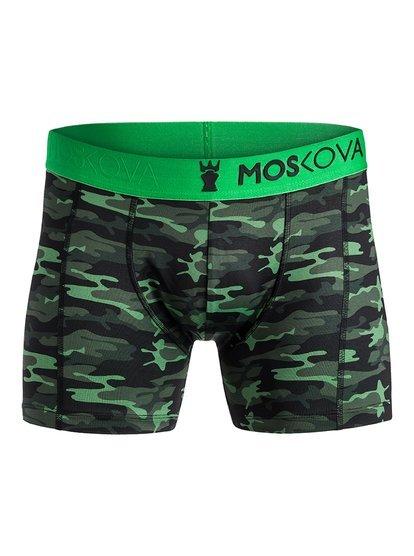 Moskova - Boxer performance pour Homme - Vert - Quiksilver
