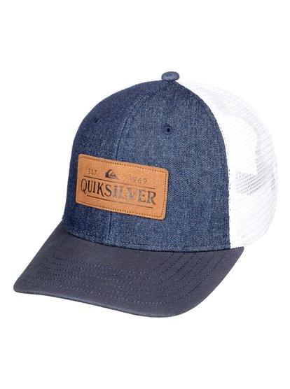 Vine Beater - Casquette trucker pour Homme - Bleu - Quiksilver