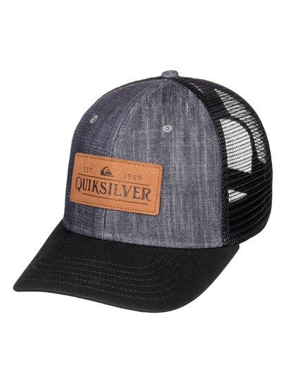 Vine Beater - Casquette trucker pour Homme - Noir - Quiksilver