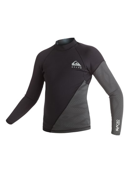 Imagem de 1mm Syncro New Wave - Top De Neopreno De Manga Larga para Chicos 8-16 - Negro - Quiksilver