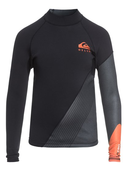 Imagem de 1mm Syncro New Wave - Top De Neopreno De Manga Larga para Chicos 8-16 - Naranja - Quiksilver