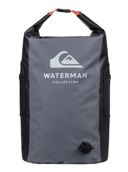 Waterman Sea Stash 35L - Sac de surf roll-top étanche - Noir - Quiksilver