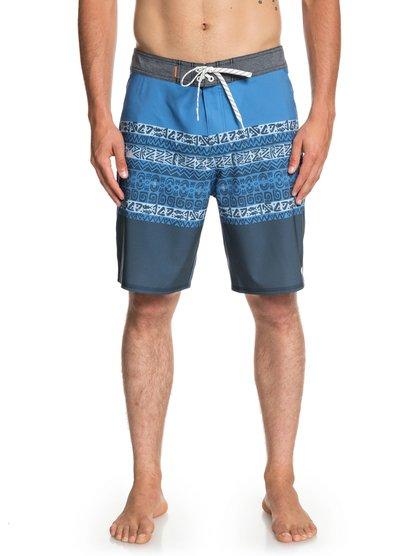 Waterman Liberty Triblock 19  - Boardshort pour Homme - Bleu - Quiksilver