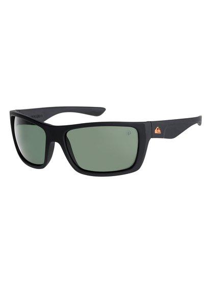 Hideout Polarised Floatable - Lunettes de soleil pour Homme - Noir - Quiksilver