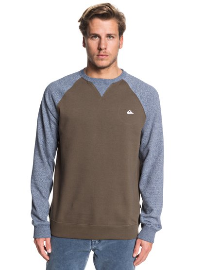 Everyday - Sweat pour Homme - Marron - Quiksilver