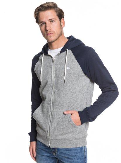 Everyday - Sweat à capuche zippé pour Homme - Gris - Quiksilver