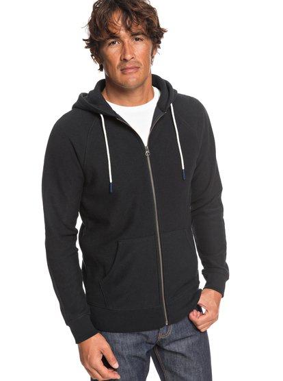 Gouf - Sweat à capuche zippé pour Homme - Noir - Quiksilver