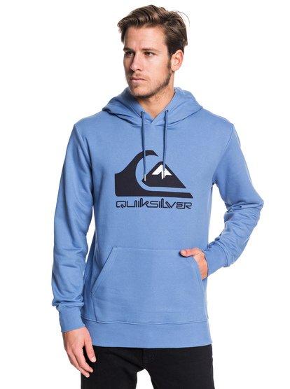 Omni Logo - Sweat à capuche pour Homme - Bleu - Quiksilver