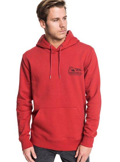 Daily Wax - Sweat à capuche pour Homme - Rouge - Quiksilver