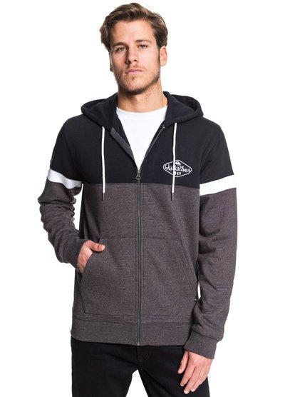 Kumano - Sweat à capuche zippé pour Homme - Noir - Quiksilver