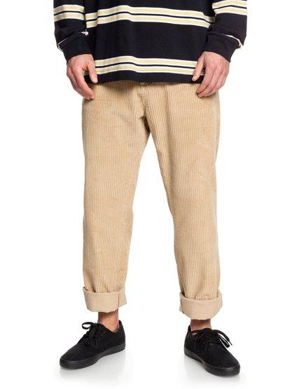 Positive Vibrations - Pantalon en velours côtelé pour Homme - Marron - Quiksilver