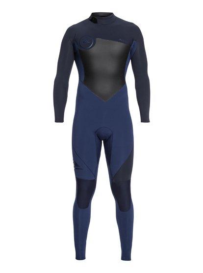 3/2mm Syncro Series - Combinaison GBS back zip pour Homme - Bleu - Quiksilver