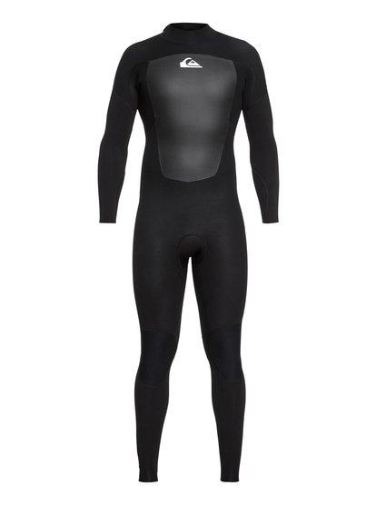 3/2mm Prologue - Haut en néoprène back zip pour Homme - Noir - Quiksilver