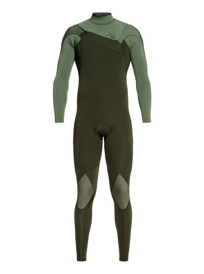 4/3mm Highline Limited Monochrome - Combinaison zip poitrine pour Homme - Marron - Quiksilver