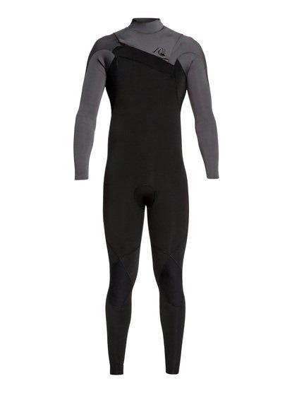 4/3mm Highline Limited Monochrome - Combinaison zip poitrine pour Homme - Gris - Quiksilver