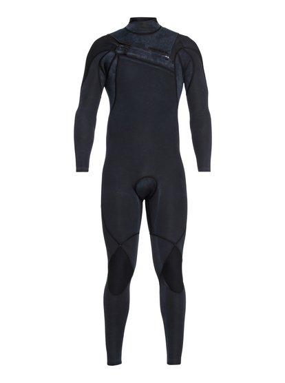 4/3mm Highline Limited Monochrome - Combinaison zip poitrine pour Homme - Noir - Quiksilver