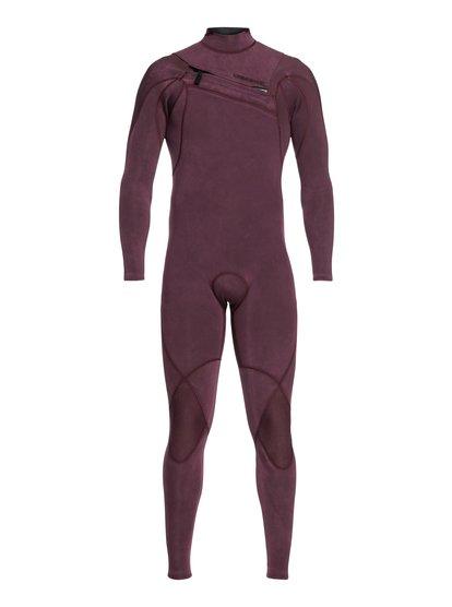3/2mm Highline Limited Monochrome - Combinaison zip poitrine pour Homme - Rose - Quiksilver