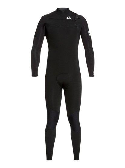 4/3mm Syncro - Combinaison GBS zip poitrine pour Homme - Noir - Quiksilver
