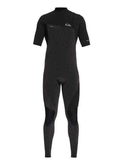 2/2mm Highline Lite - Combinaison manches courtes sans zip pour Homme - Noir - Quiksilver