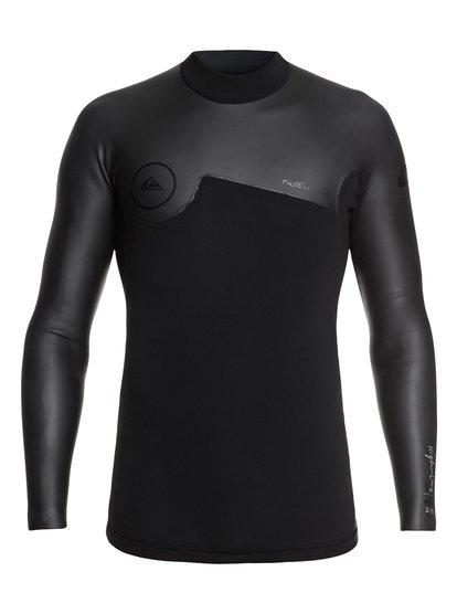 2mm Highline Plus - Top de surf néoprène manches longues pour Homme - Noir - Quiksilver