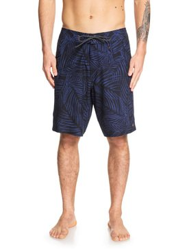 퀵실버 수영복 트렁크 보드숏 하의 Quiksilver Waterman Paddler 20 Boardshorts,BLACK (kvj6)