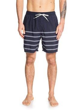 퀵실버 수영복 트렁크 보드숏 하의 Quiksilver Waterman Lighthouse 18 Swim Shorts