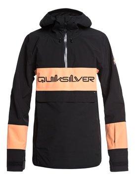 퀵실버 스노우 자켓 Quiksilver Anniversary - Snow Jacket,BLACK (kvj0)
