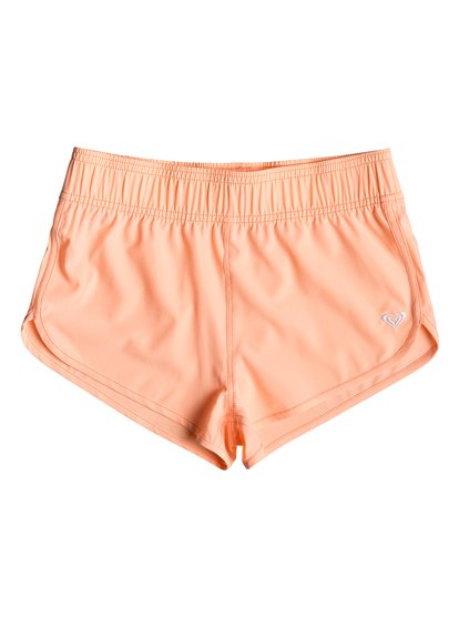 Surfing Free - Boardshorts para Chicas 8-16 - Rosa - Roxy