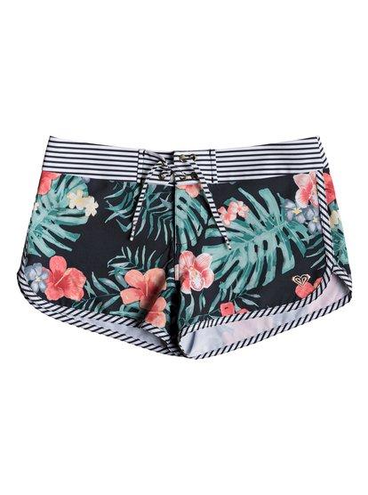 Happy Spring - Boardshorts para Chicas 8-16 - Negro - Roxy