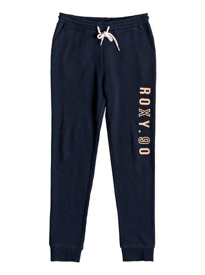 Nice Travel - Pantalón de Chándal para Chicas 8-16 - Azul - Roxy