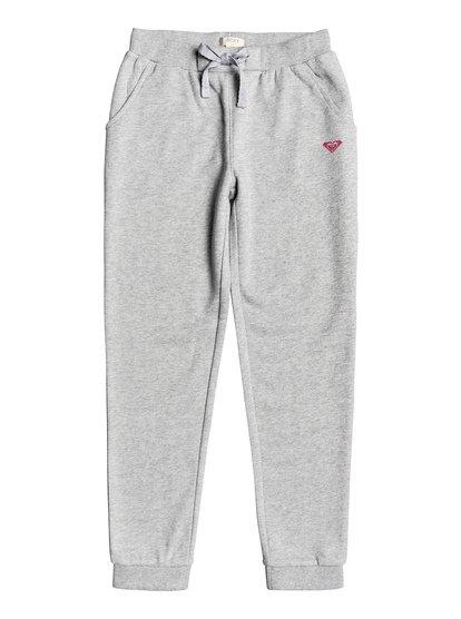 Rainbow Sky - Pantalon de jogging pour Fille 4-16 - Gris - Roxy