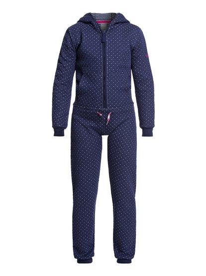 Cozy Up - Combinaison technique matelassée à capuche pour Fille 4-16 - Bleu - Roxy