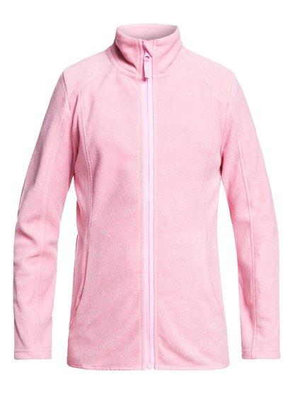 Harmony - Haut zippé à col montant pour Fille 4-16 - Rose - Roxy
