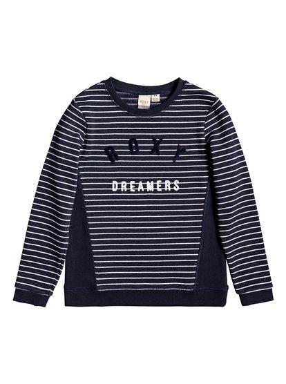Silent River - Sweatshirt pour Fille 4-16 - Bleu - Roxy