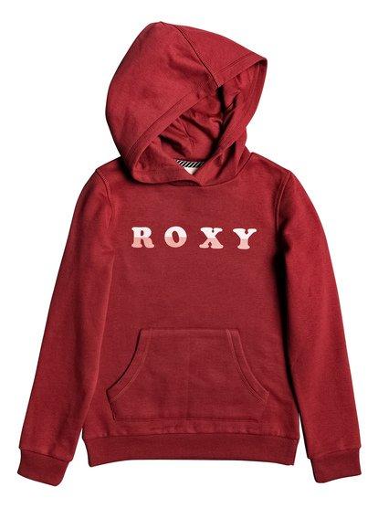 Calm Vibes A - Sweat à capuche pour Fille 4-16 - Rouge - Roxy