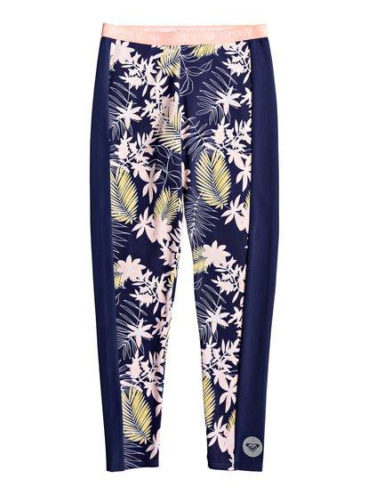 Bikini Point - Legging de surf UPF 50 pour Fille 8-16 ans - Bleu - Roxy