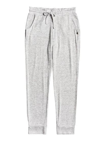Secret Song - Pantalon de jogging doux pour Fille 4-16 - Gris - Roxy