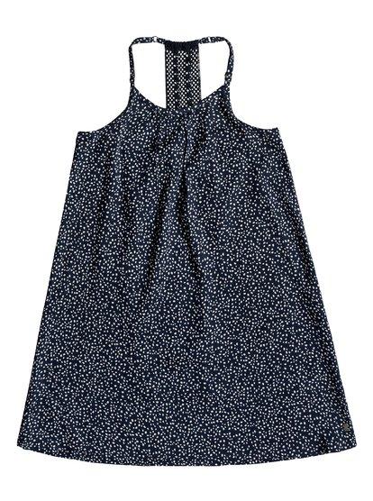Exotic Nature - Vestido de Tiras para Chicas 8-16 - Azul - Roxy