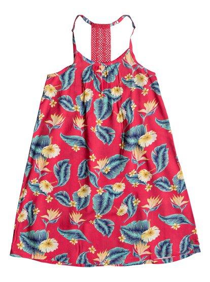 Exotic Nature - Vestido de Tiras para Chicas 8-16 - Rosa - Roxy