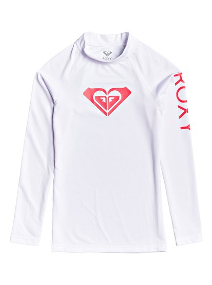 Whole Hearted - Lycra manches longues UPF 50 pour Fille 8-16 ans - Blanc - Roxy