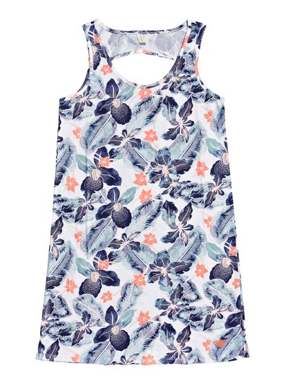 Warm Vibes - Vestido de Playa sin Mangas para Chicas 8-16 - Blanco - Roxy