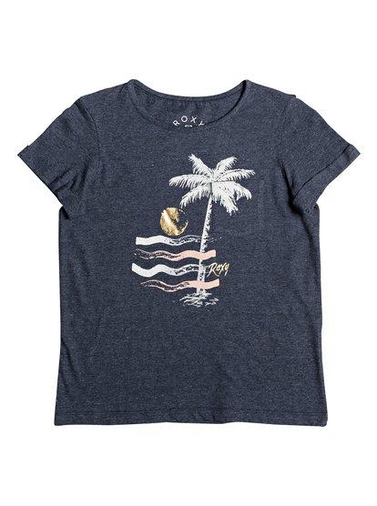 Flashes Of Light A - Camiseta para Chicas 8-16 - Azul - Roxy