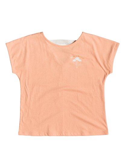 Story Goes B - Camiseta para Chicas 8-16 - Rosa - Roxy