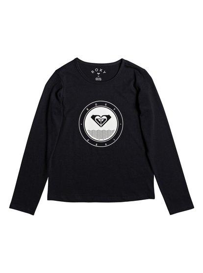 So Amazing - Camiseta de Manga Larga para Chicas 4-16 - Negro - Roxy