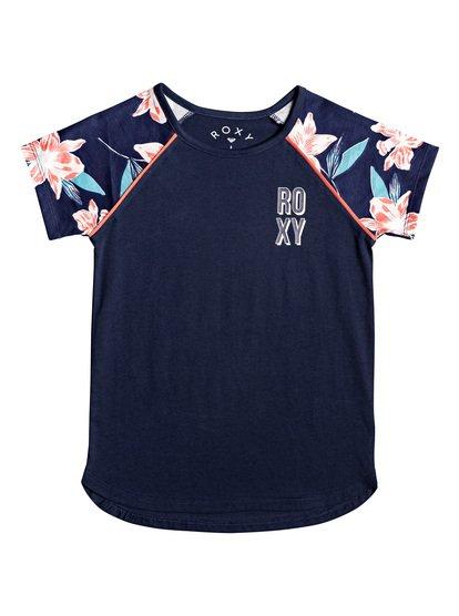 Friday Love - Camiseta para Chicas 4-16 - Azul - Roxy