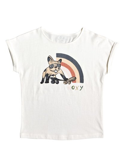 ROXY - Camiseta para Chicas 4-16 - Blanco - Roxy