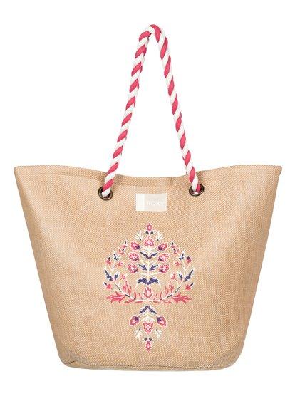 Sunseeker - Bolsa de Playa de Paja - Amarillo - Roxy