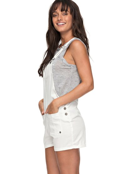 Back In Miami - Short de Peto para Mujer - Blanco - Roxy