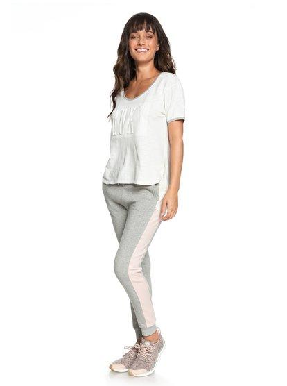 Sidewalk Classic - Pantalón de chándal para Mujer - Gris - Roxy