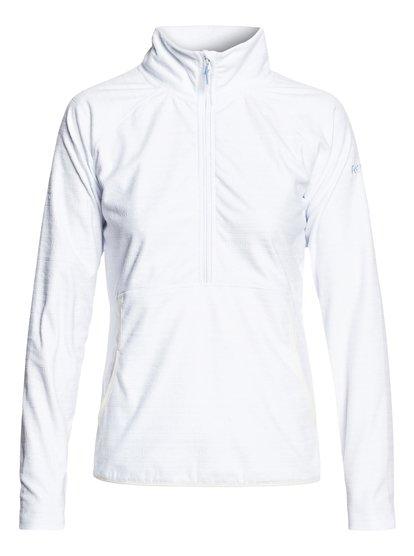 Cascade - Polar técnico con media cremallera para Mujer - Blanco - Roxy